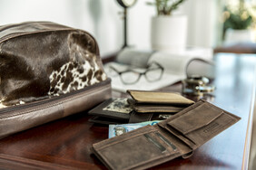 The Heston Leather Wallet